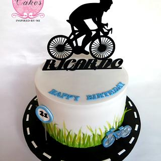 Cycling - Cake by Cakes Inspired by me