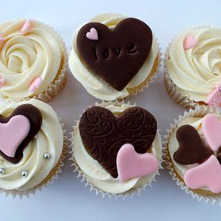 Valentines cupcakes - Cake by jaimiec