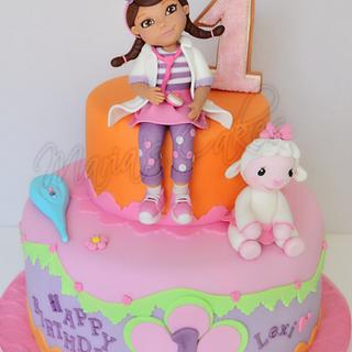 Dc Mcstuffins birthday cake ❤️