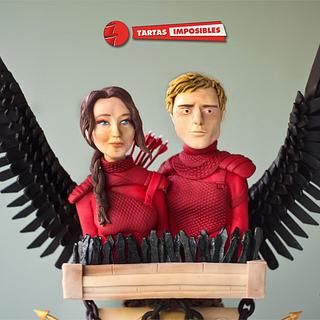 The Hunger Games (Be My Valentine! movie nights collab) - Cake by Tartas Imposibles