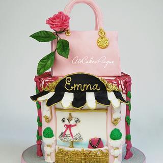 Fashion boutique cake