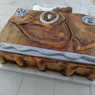 Hocus Pocus Book Cake