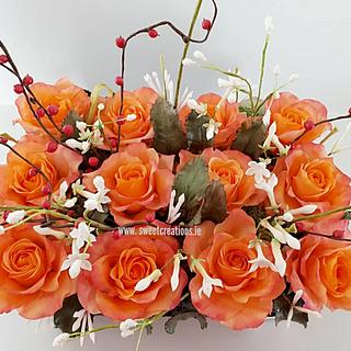 Burnt Orange Roses