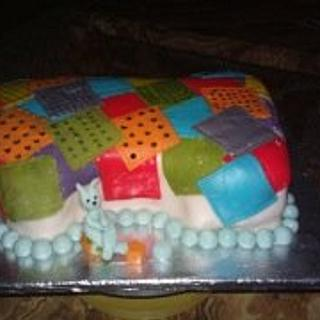 Patchwork Cake - Cake by Dreamsinbc