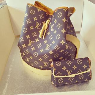 Louis Vuitton bag - Cake by IlariaDiciaula