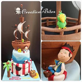 Jake & the Neverland Pirates Cake - Cake by Creative Bites