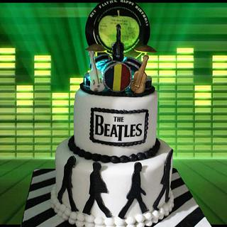 The Beatles - Cake by MsTreatz
