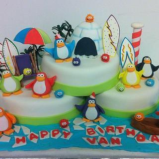 Club Penguin - Cake by Kitti Lightfoot