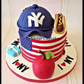 New York Cake - Cake by nectarcupcakes