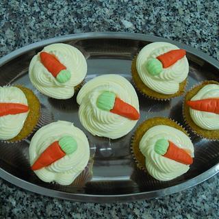 cupcake carrots