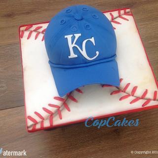 Royals Hat Cake