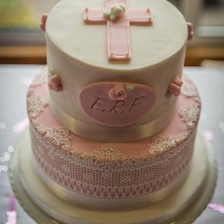 Baby's Christening cake