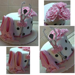 For danseuse - Cake by cicapetra