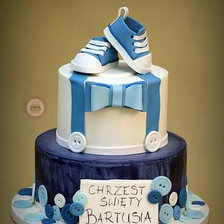 Cake for baptism - Cake by TortLove by Aga