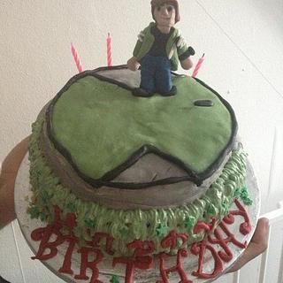 ben ten cake for my son