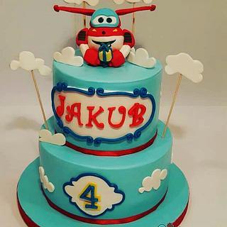 Wings cake