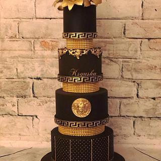 Versace - Cake by Ksyusha