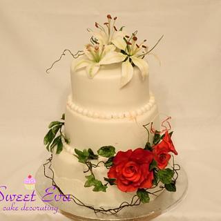 Wedding cake - Cake by ana ioan