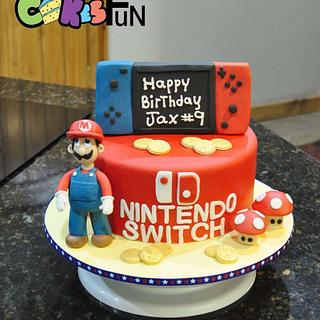 Mario - Cake by Cakes For Fun