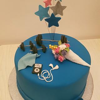 sports cake - Cake by iratorte