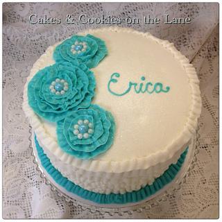 Erica's Birthday Cake