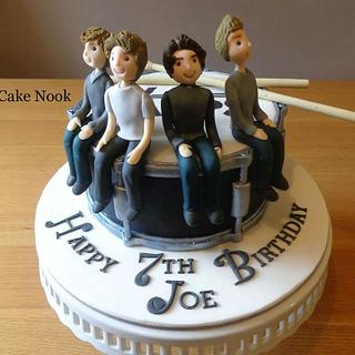 The Vamps Cake