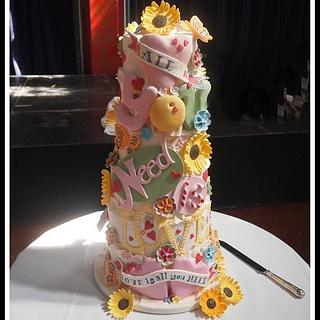 'All You Need Is Love' cakes