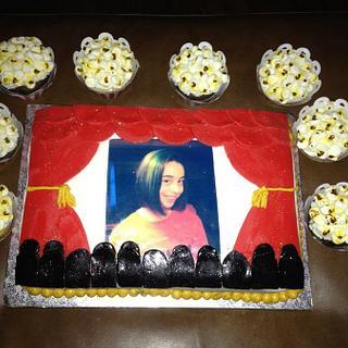 """""""Movie"""" Cake"""