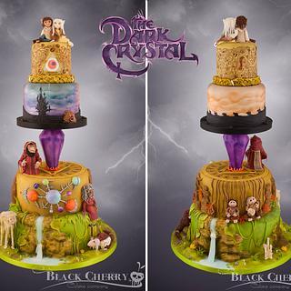 Dark Crystal Cake - Cake by Little Cherry