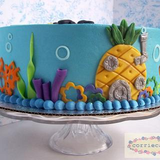Spongebob Squarepants - Cake by Corrie