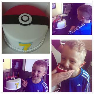 Pokemon cake - Cake by Tracycakescreations