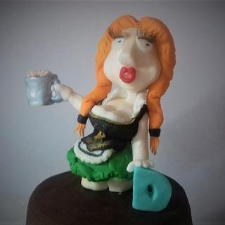 Lederhosen Lois - Cake by Bombshell Bakes