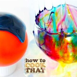 Beautiful Luminescent Candy Bowls - Cake by HowToCookThat