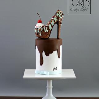 Chocolate Stiletto