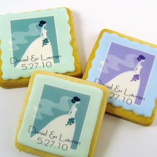 Wedding Cookies - Cake by Cheryl