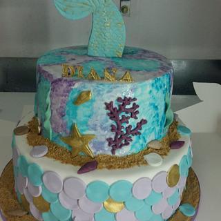 Mermaid cake - Cake by Iva Halacheva