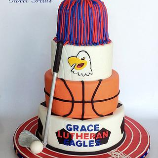 Grace Lutheran Atheltic Banquet Cake