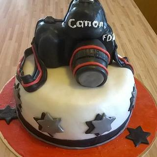 Camera cake - Cake by Irena