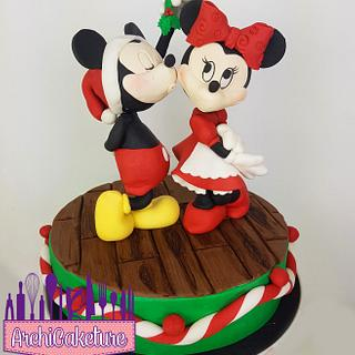 Mickey and Minnie mouse <3  - Cake by Archicaketure_Italia