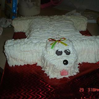 Doggy Cake - Cake by Dana