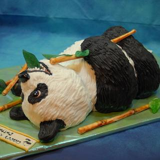 Panda-Birthdaycake