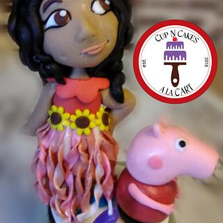 Mini Riley & Peppa Pig