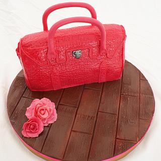 Lady's handbag - Cake by Lia Russo