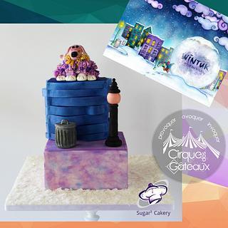 Wintuk Cirque des Gateaux Collaboration cake - Cake by CoveredinGrace