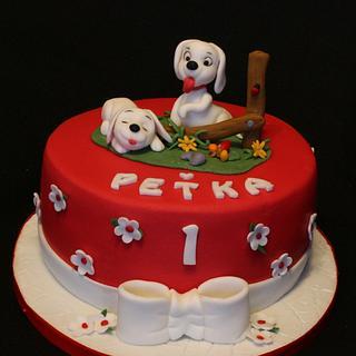 Puppies - Cake by Anka