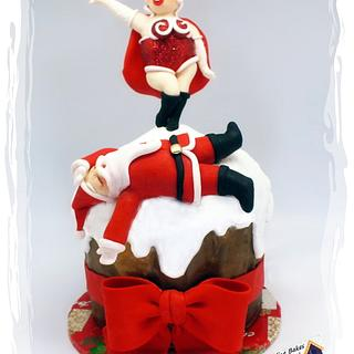Ho! Ho! Ho! Santa Floored By Mrs Claus!