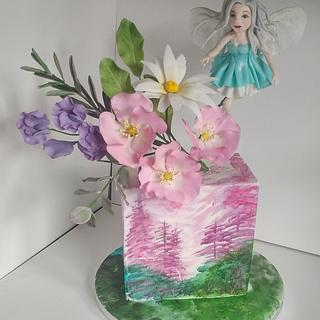 Fairy magic - the 1 cake collab