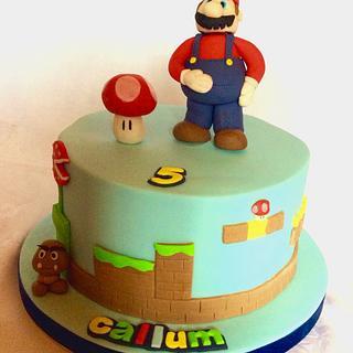 Super mario cake - Cake by Martina Kelly