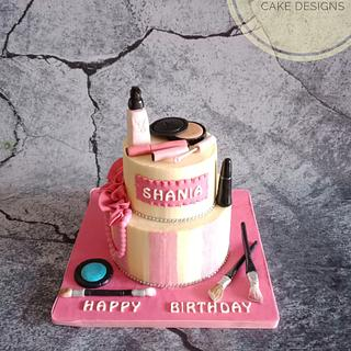Victoria's Secret Make up cake
