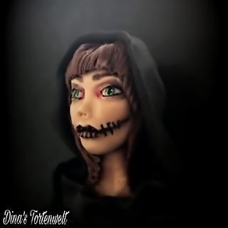 Voodoo Witch  - Cake by Dina's Tortenwelt